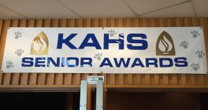 kutztown senior awards banner